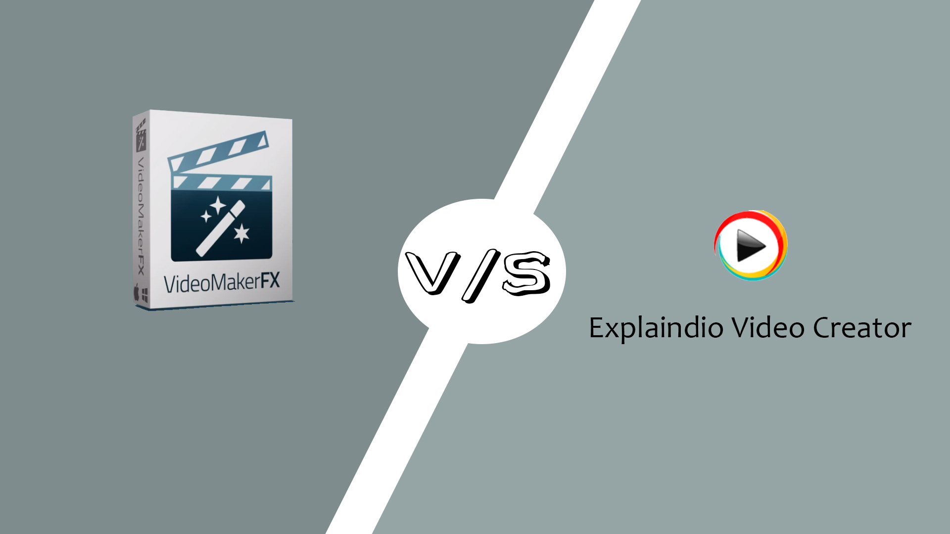 VideoMakerFX Vs. Explaindio Video Creator