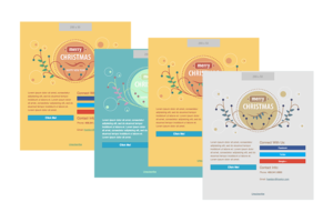 Email Templates for Christmas and New Year 2016