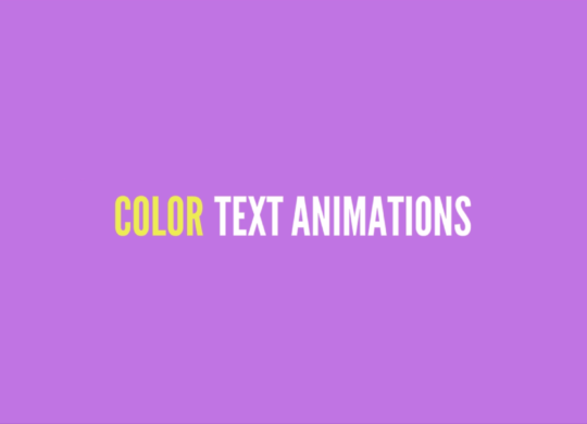 Colorful Text Animation VideoMaker Fx Slides 2017